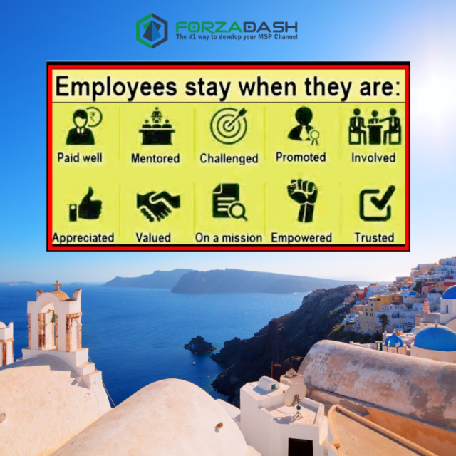 Employees Stay when