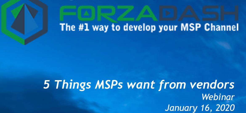 ForzaDash webinar Title Image