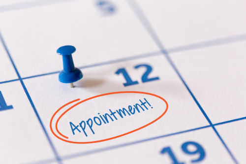 Step #5 - Setting an Appointment